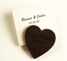 Load image into Gallery viewer, wedding_favors_dark_chocs_heart_inheart_box_lightgold