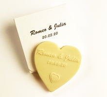 Load image into Gallery viewer, wedding_favors_white_chocs_heart_inheart_box_lightgold