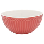 GreenGate Cereal Bowl Alice Coral