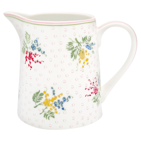 GreenGate Jug Mira White