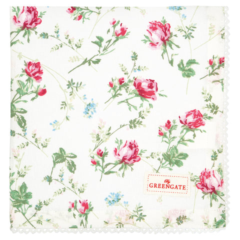 GreenGate Serviette Constance White