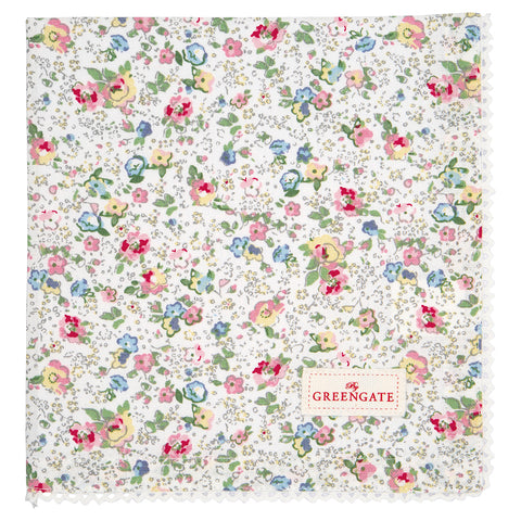 GreenGate Serviette Vivianne White