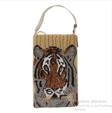 The Moshi Mini Clutch Tiger Ivory