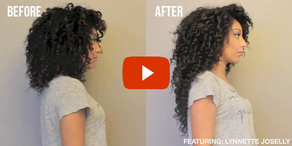 Blog bella kurls in this video she shares her technique on how to install clip in curly hair extensions for protective styling using her 22 chocolate brown clip in curly pmusecretfo Image collections