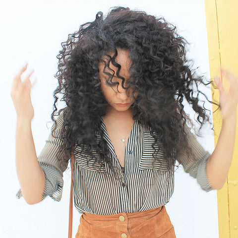 Clip In Curly Hair Extensions Curly Kinky Afro Wavy Clipins