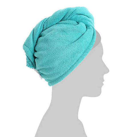 Turban Microfiber Hair Towel
