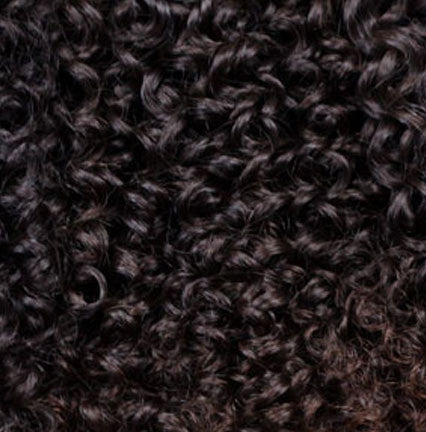2 Dark Brown Clipin Curly Hair Extensions | Kinky – Bella ...