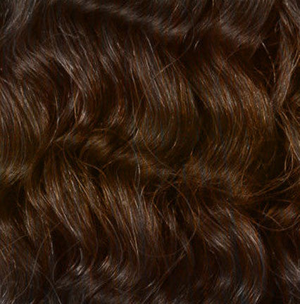 4 Chocolate Brown Clipin Curly Hair Extensions Curly