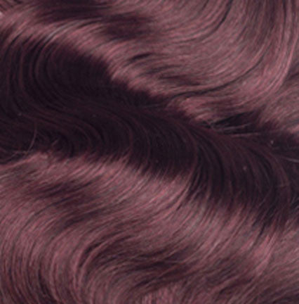 #99J Darkest Red - Wavy