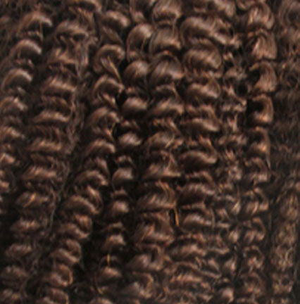 #4 Chocolate Brown - Afro