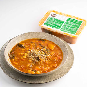 Moroccan Vegetable & Chickpea Soup with Zaatar - DELIVERY ONLY