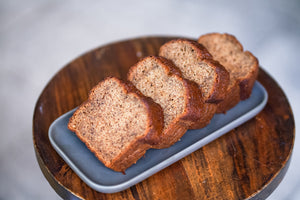 Load image into Gallery viewer, Banana Bread x4 Slices