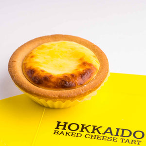 Load image into Gallery viewer, Salted Egg Cheese Hokkaido Tart