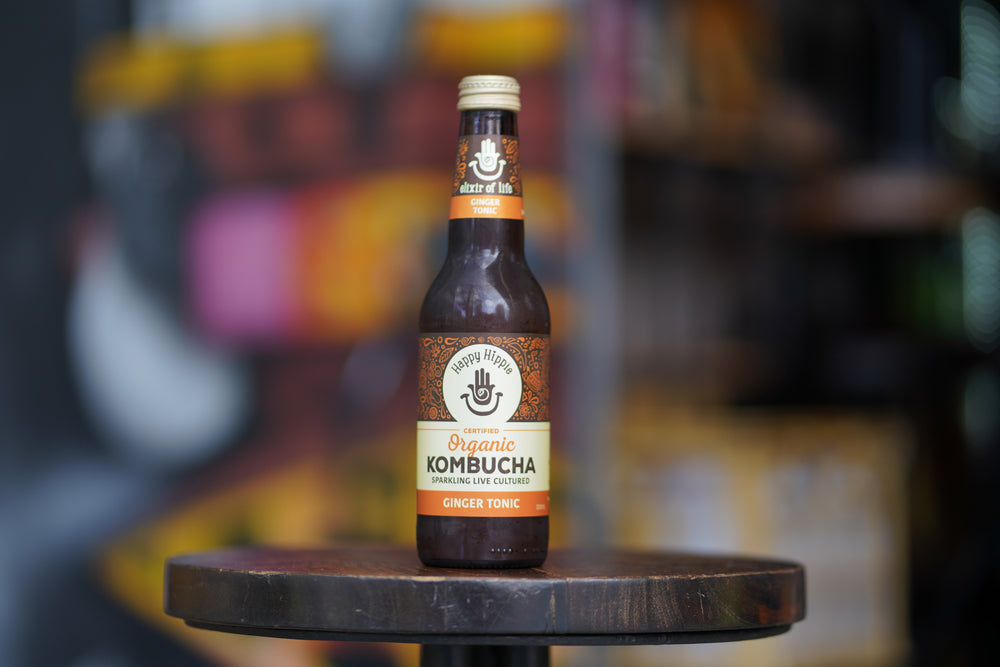 Load image into Gallery viewer, Hippie Kombucha - Ginger Tonic