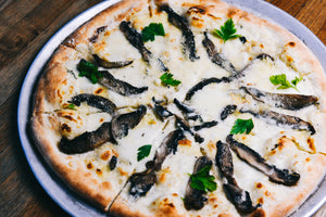 Load image into Gallery viewer, Truffle & Smoked Mushroom Pizza