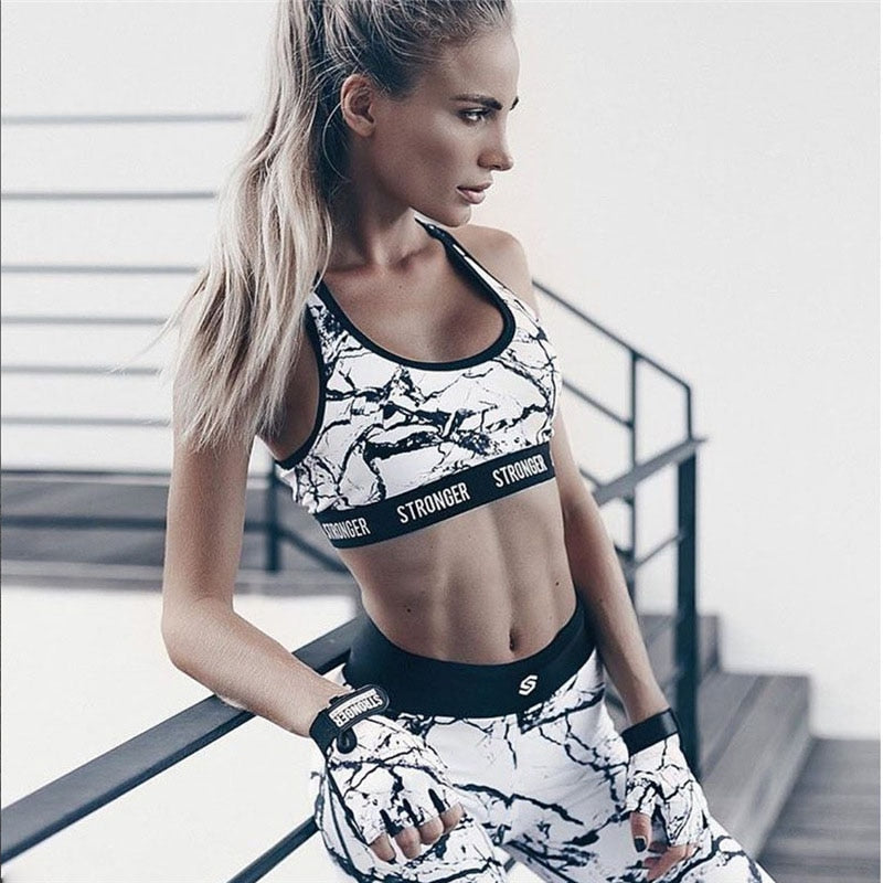Fitness Printed Suit - Gloryset