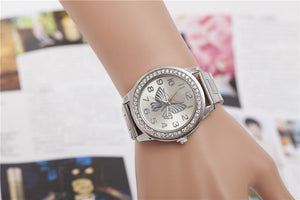 Luxury Quartz Butterfly Women Watches - Gloryset