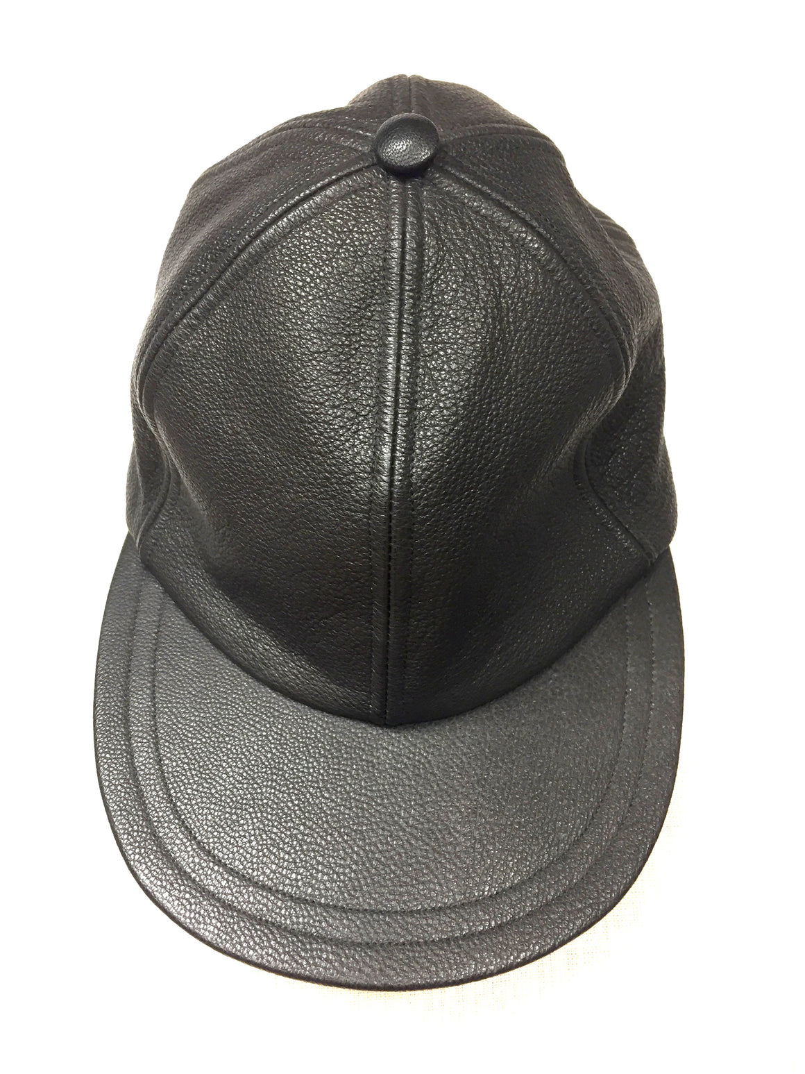 bisbiz.com EUGENIA KIM Black Caviar Leather Cap - Bis Luxury Resale