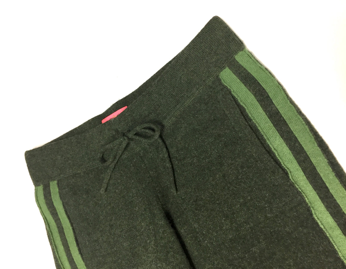 JUICY COUTURE Green Cashmere Drawstring Sweat Pants/Track Pants Sz XS