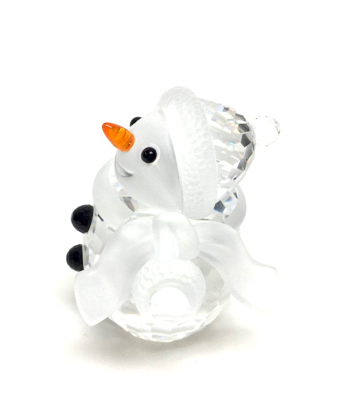 SWAROVSKI New Smiling SNOWMAN Crystal Figurine
