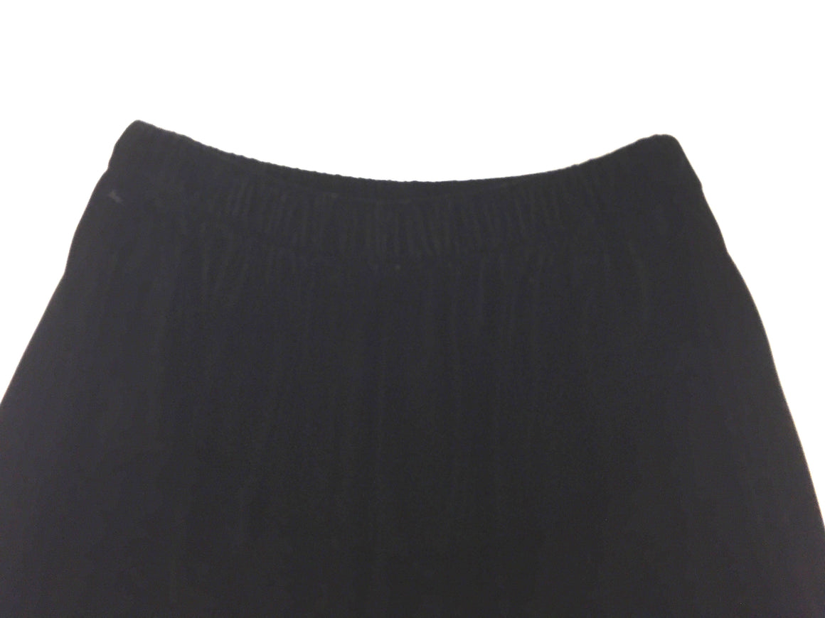 bisbiz.com CHANEL CREATIONS Vintage - New Black Velvet Elastic Waist Dress Pants Size: 6 - Bis Luxury Resale