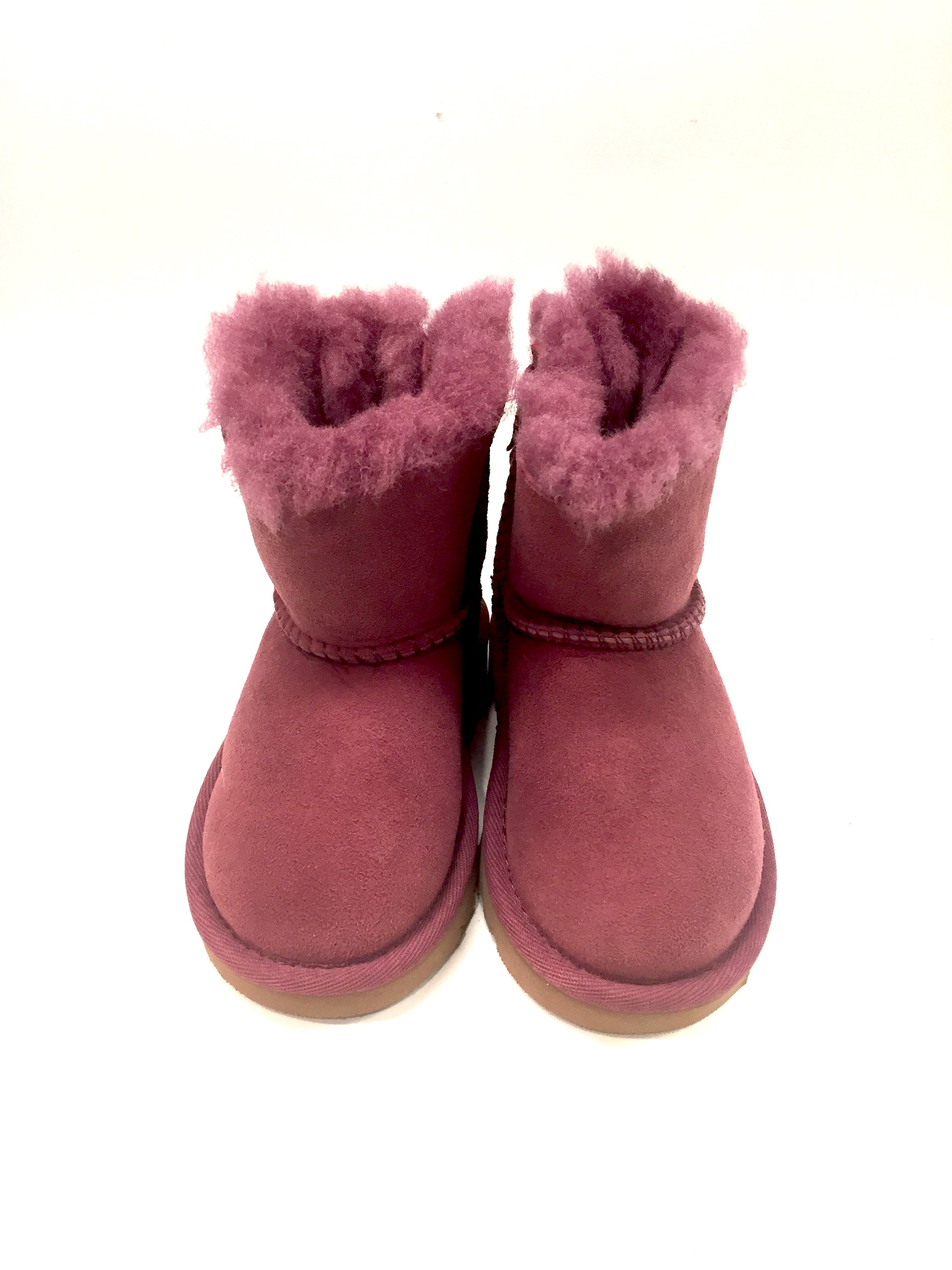 New UGG PURE Pink Suede Lamb Fur Lined