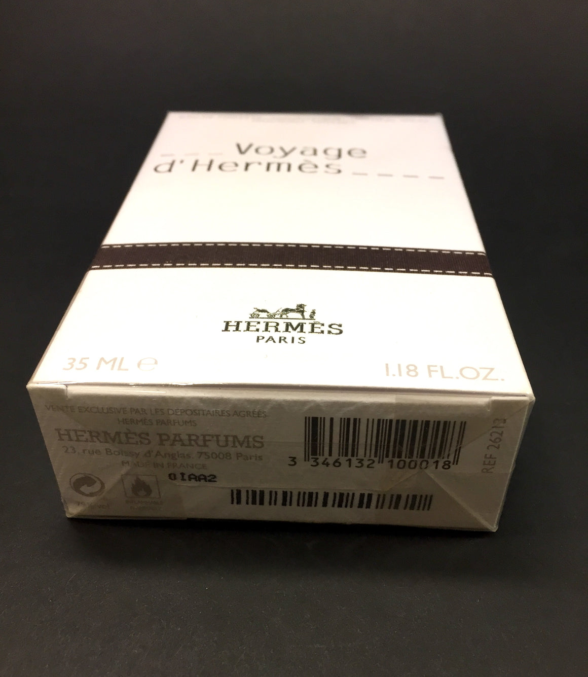 New HERMES 'VOYAGE D'HERMES' Refillable Eau de Toilette Spray Sz1.18 fl.oz.