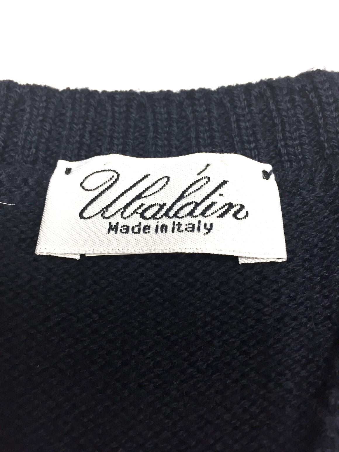 UBALDIN   New Navy-Blue 100% Wool Boys' V-Neck Cardigan Size:  4 Years