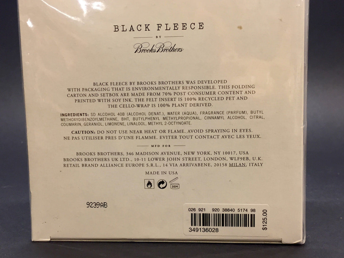 bisbiz.com BROOKS BROTHERS - BLACK FLEECE New Women Eau de Parfum Size: 4.2 fl. oz. / 125 ml - Bis Luxury Resale