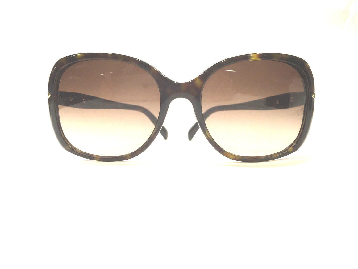bisbiz.com PRADA Moc-Tortoise Acrylic Frame Sunglasses with Brown Gradient Lenses & Case - Bis Luxury Resale