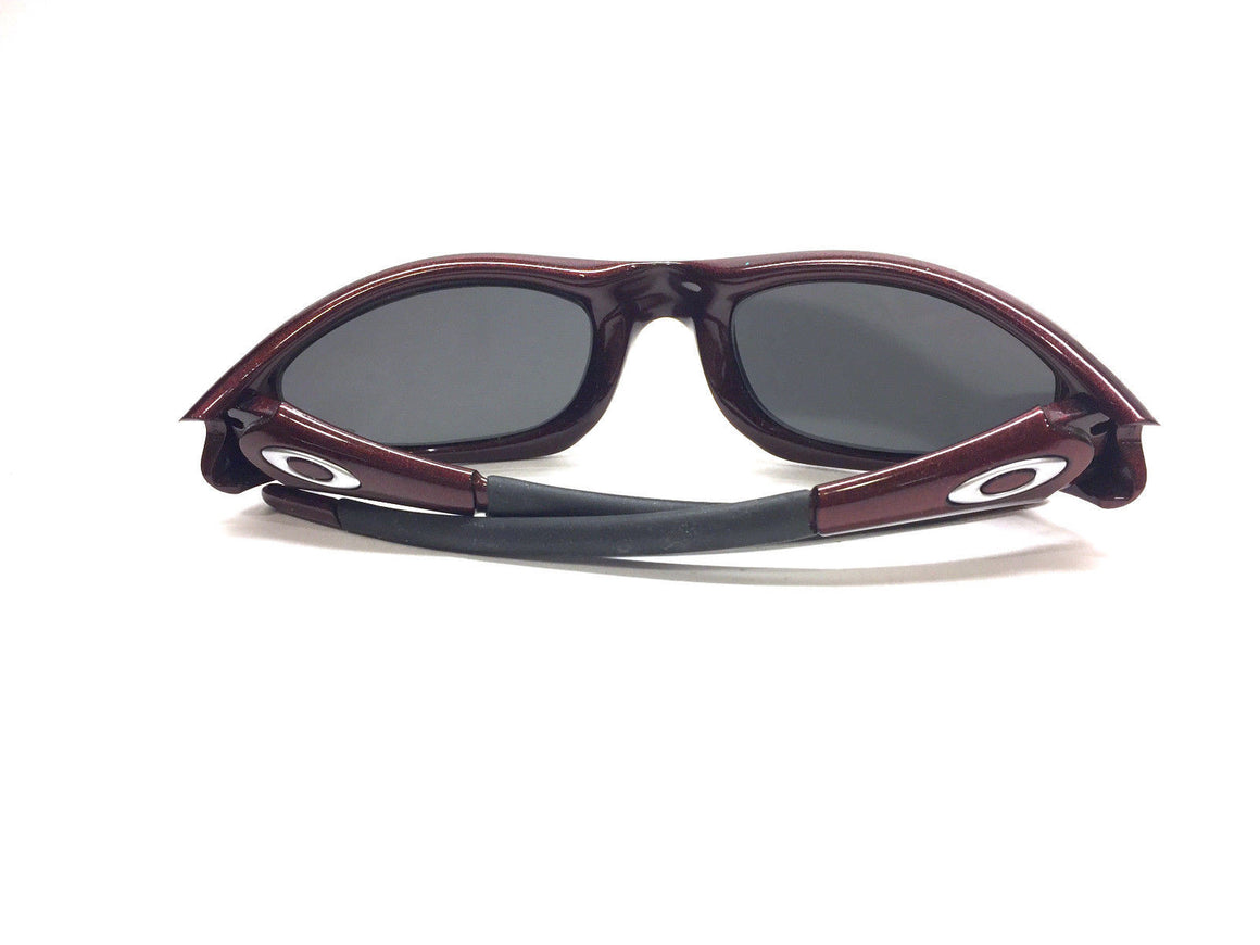 bisbiz.com OAKLEY Straight Jacket Burgundy/Black Iridium Unisex Sunglasses - Bis Luxury Resale
