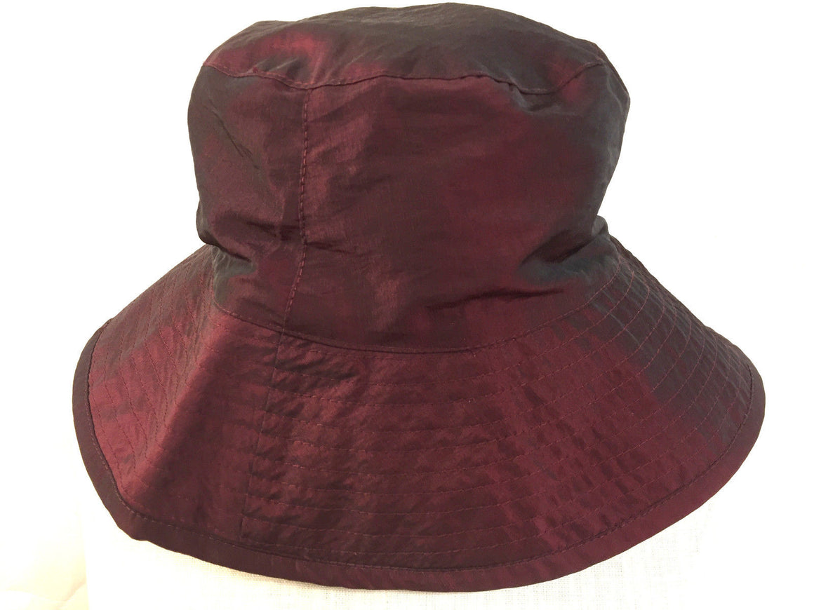 SAN FRANCISCO HAT Co. Burgundy GORE-TEX Fabric Rain Hat Size: One Size