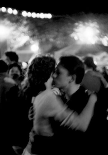 "bisbiz.com HENRI DAUMAN  ""Bastille Day, Dancing in the Streets of Paris, 1959""  Silver Gelatin Print  Size: 16"" x 20"" - Bis Luxury Resale"