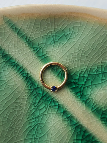 14kt Gold Sapphire Ring