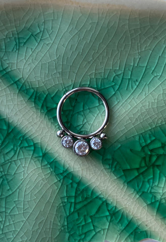 Gem & Bead Ring
