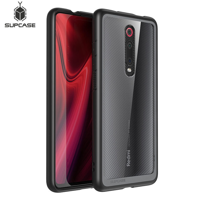 For Xiaomi Mi 9T Case Mi 9T Pro Case SUPCASE UB Style Anti-knock Premium Hybrid Ultra-Thin Protective TPU Bumper + PC Clear Case