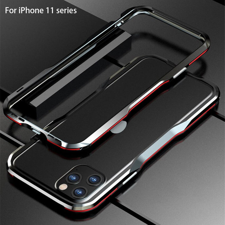 For iPhone 11 Case Metal Frame Double Color Aluminum Bumper Protect Cover for iPhone 11 Pro Max Phone iPhone 11 Pro Case