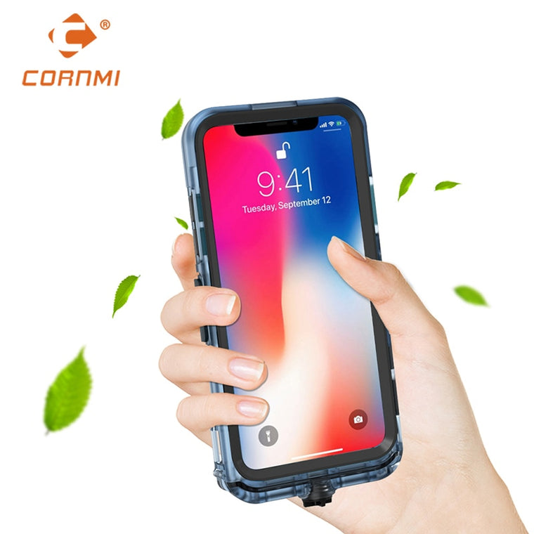 CORNMI Waterproof Phone Case for iPhone XS