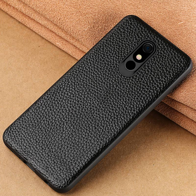 100% Genuine Cowhide Leather Phone case For LG Stylo 5 Covers Luxury 360 Full Protective Cover for LG V40 K40 G8 ThinQ G8s ThinQ