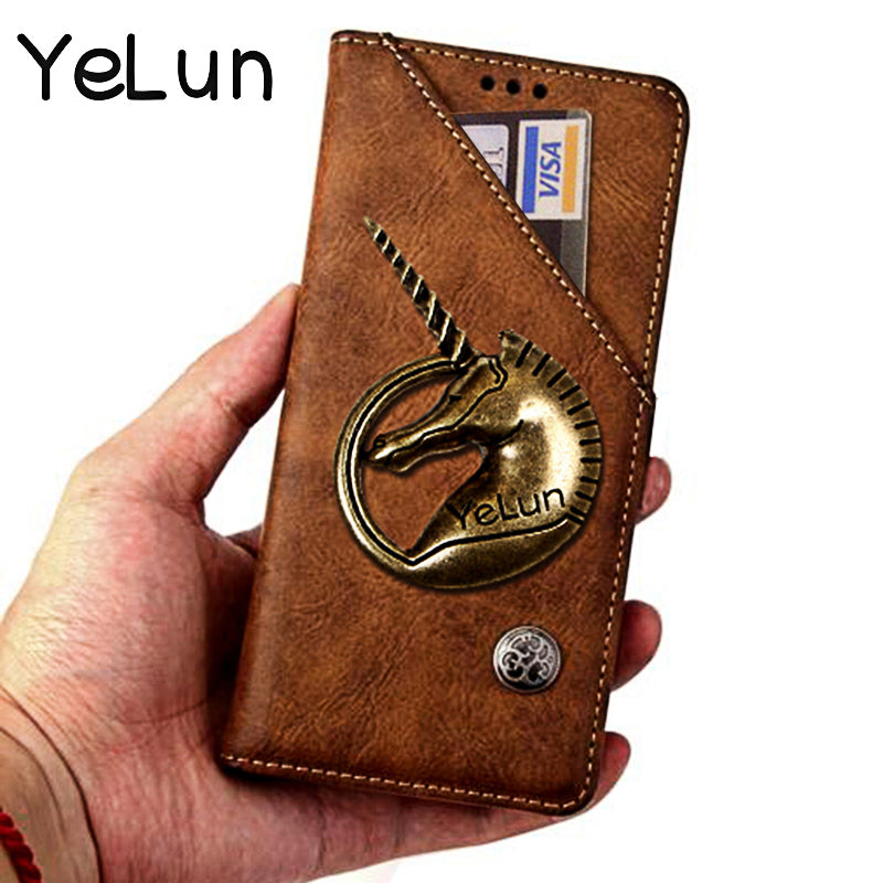 For Huawei Honor 10i Cover Luxury Leather Flip Case For Huawei HRY-LX1T Protective Phone Case 3D Horse Back Cover Wallet Case