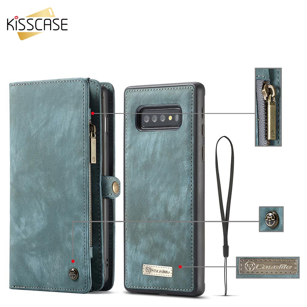 Leather Flip Case For Samsung Note 10 Plus A70 A40 A50 A80 A90 Wallet Cover For Samaung  S10E S9 S8 Plus S7 Edge Note 9 10 S20