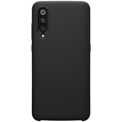 NILLKIN Flex Pure Liquid Silicone Case For Xiaomi mi9 /mi9 Explore Transparent Version Anti-fingerprint soft Back cover