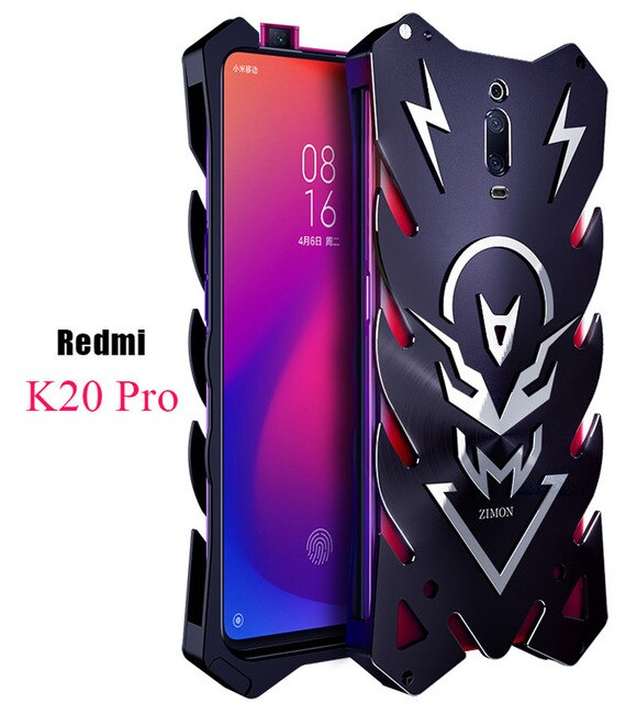 Xiomi Redmi K20 Pro Mi 9T Zimon Luxury New Thor Heavy Duty Armor Metal Aluminum Phone Case For Xiaomi Redmi K20 Pro K20 Case
