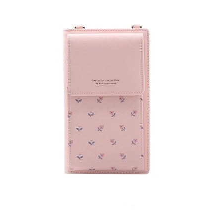 Universal Multifunction Women Zipper Wallet PU Leather Phone Bag Case For Samsung iPhone Remi Huawei OPPO ViVO Crossbody Purse