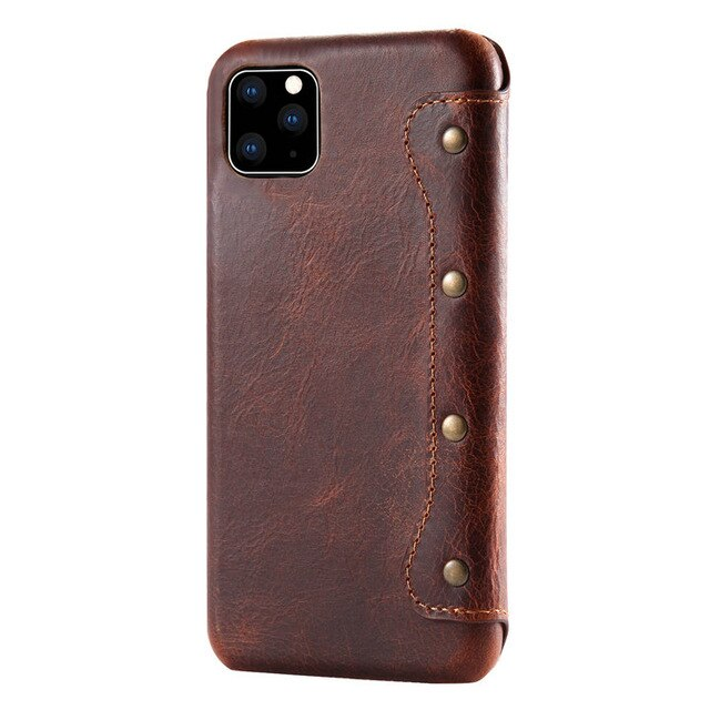 Real Leather Wallet for New iPhone 11 Pro Max 2019 Coque iPhone 11Pro Case Flip Cover for iPhone 11 Case iPhone11 Pro Max Fundas