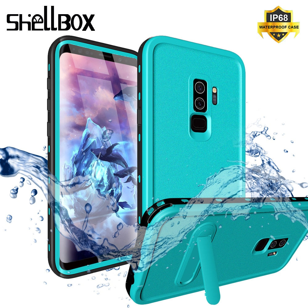 Original Waterproof Case Cover for Samsung S8 S9 Plus Outdoor Summer Swimming Shockproof Case for Samsung Galaxy S10 Note8 Plus
