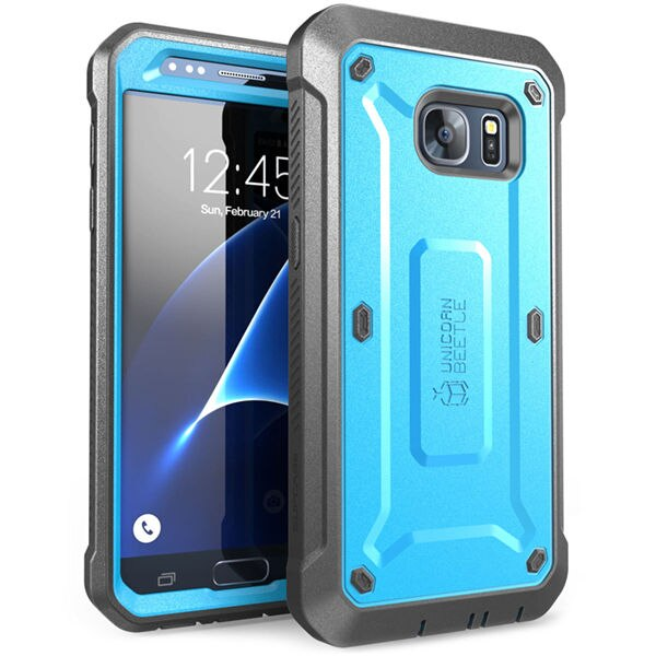 SUPCASE For Samsung Galaxy S7 Case UB Pro Series Full-Body Rugged Holster Protective Cover Case WITH Built-in Screen Protector