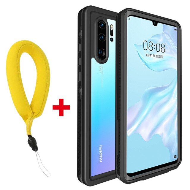 Waterproof Case for Huawei P30 Pro Mate 20 Pro Cover Shockproof Dustproof Swim Case For Huawei Nova 3e P20 Pro Underwater Case