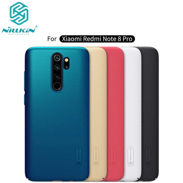 10pcs/lot wholesale NILLKIN Super Frosted Shield matte PC hard back cover case for Xiaomi Redmi Note 8 Pro case 6.53 inch
