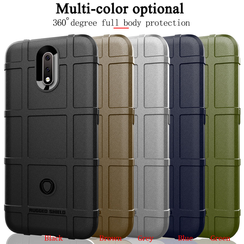 100pcs/lot For Nokia 2.3 Shield Tough Armor Cover For Nokia 2.3 Shockproof Rugged TPU Case